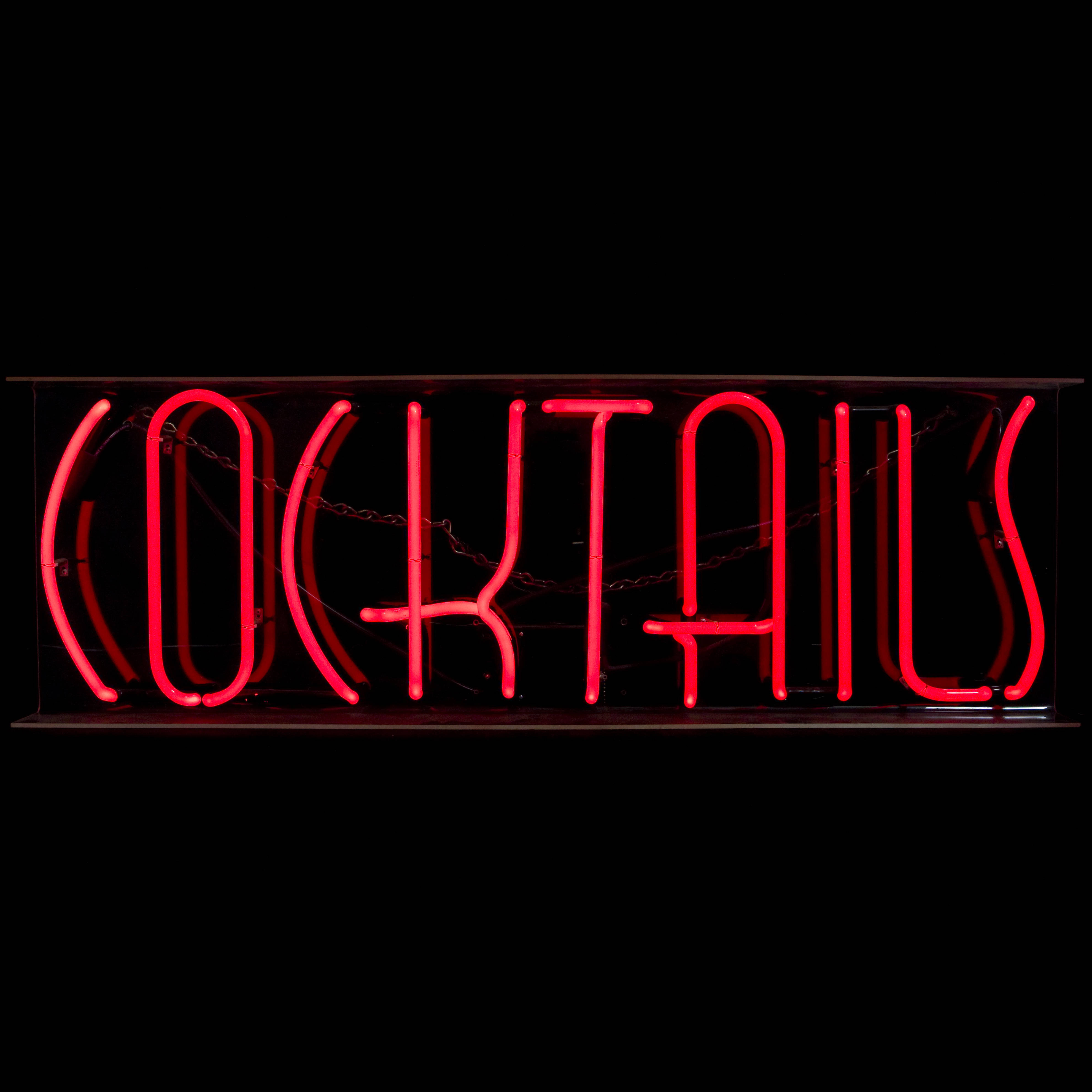 COCKTAILS / NEON SIGN | Air Designs