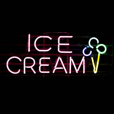 ICE CREAM SIGNS & NEON