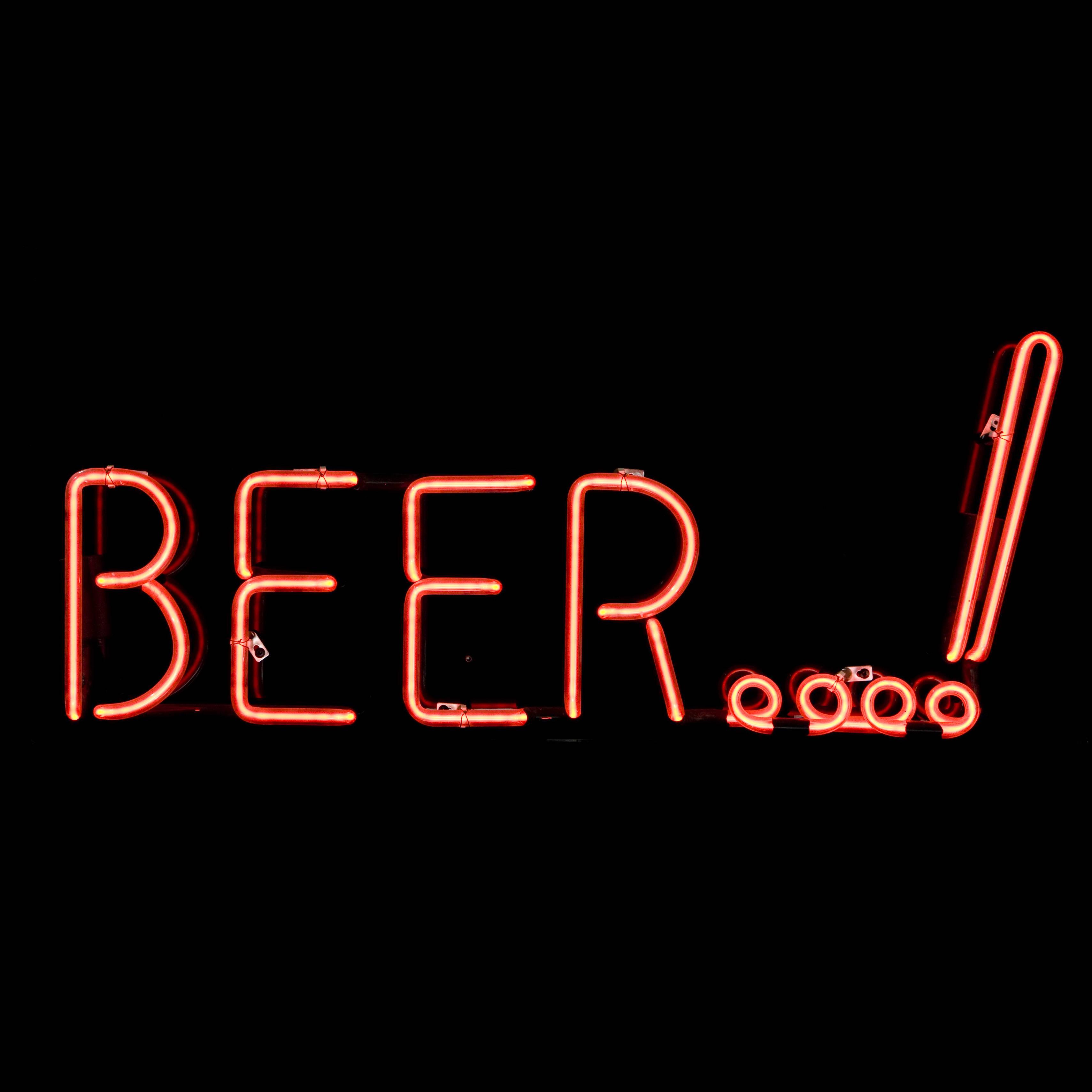 BEER…! / NEON SIGN | Air Designs