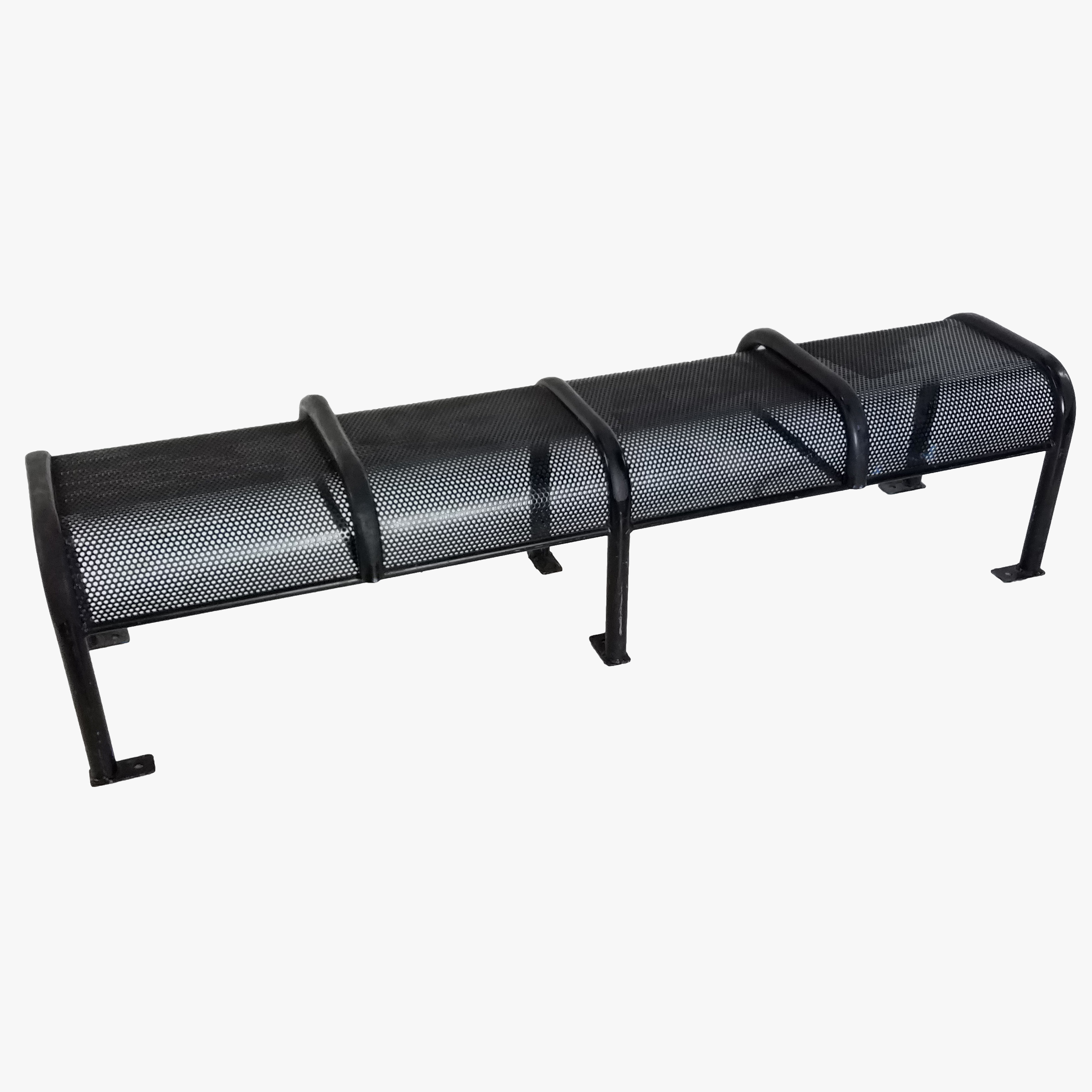 Bench Perforated Black 72 Air Designs