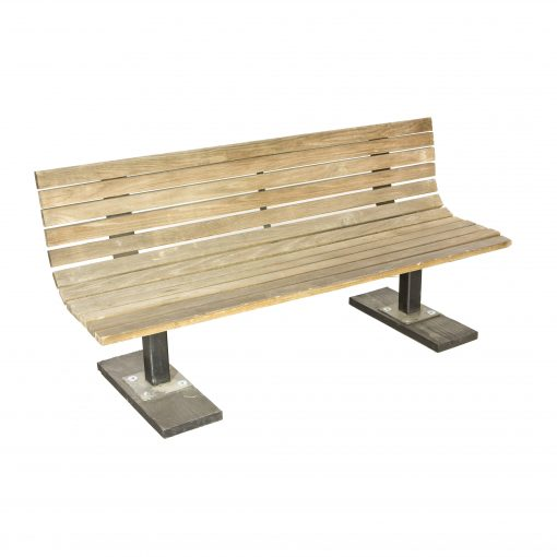 Bench Slatted Wood 72 Air Designs