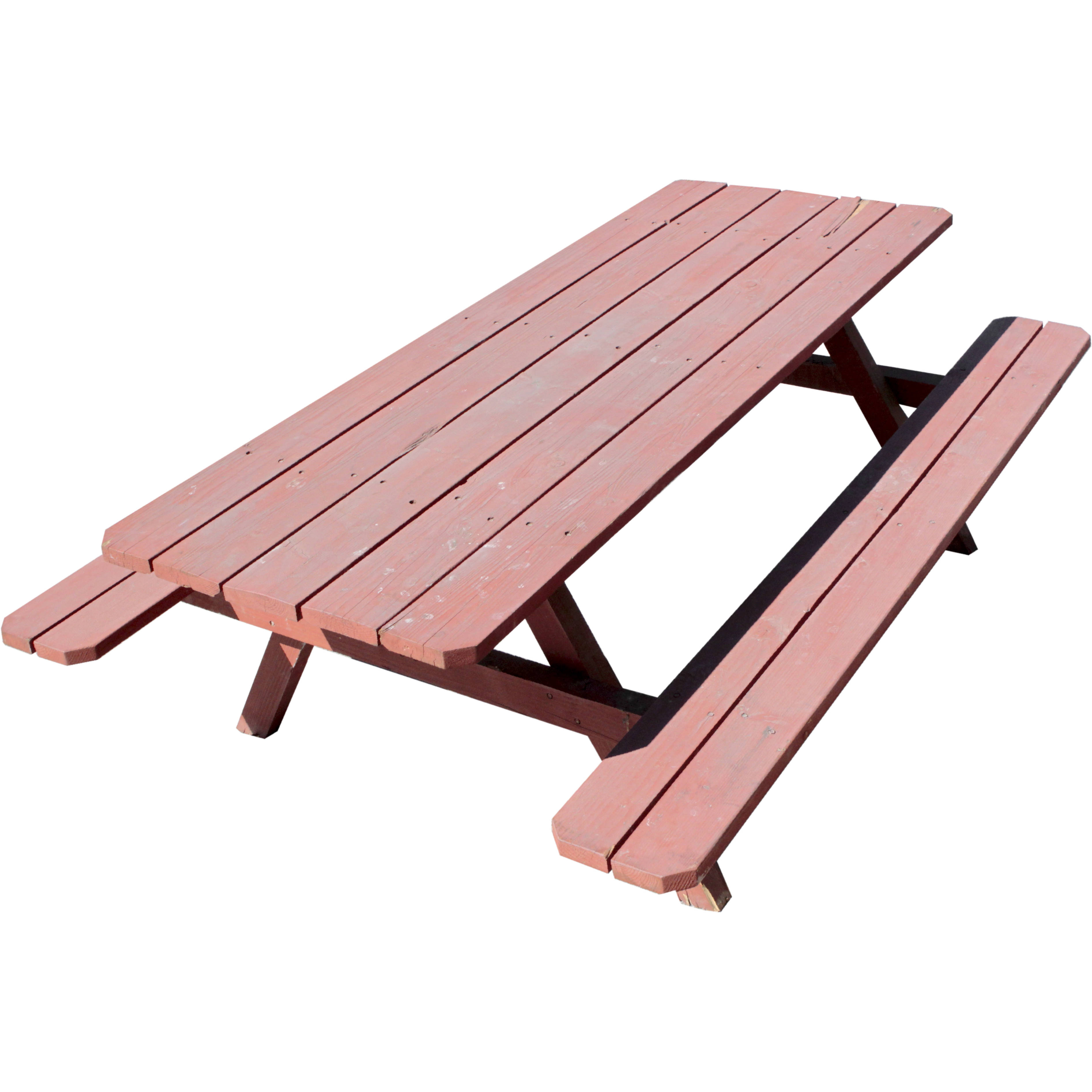 PICNIC TABLE / WOOD / LARGE