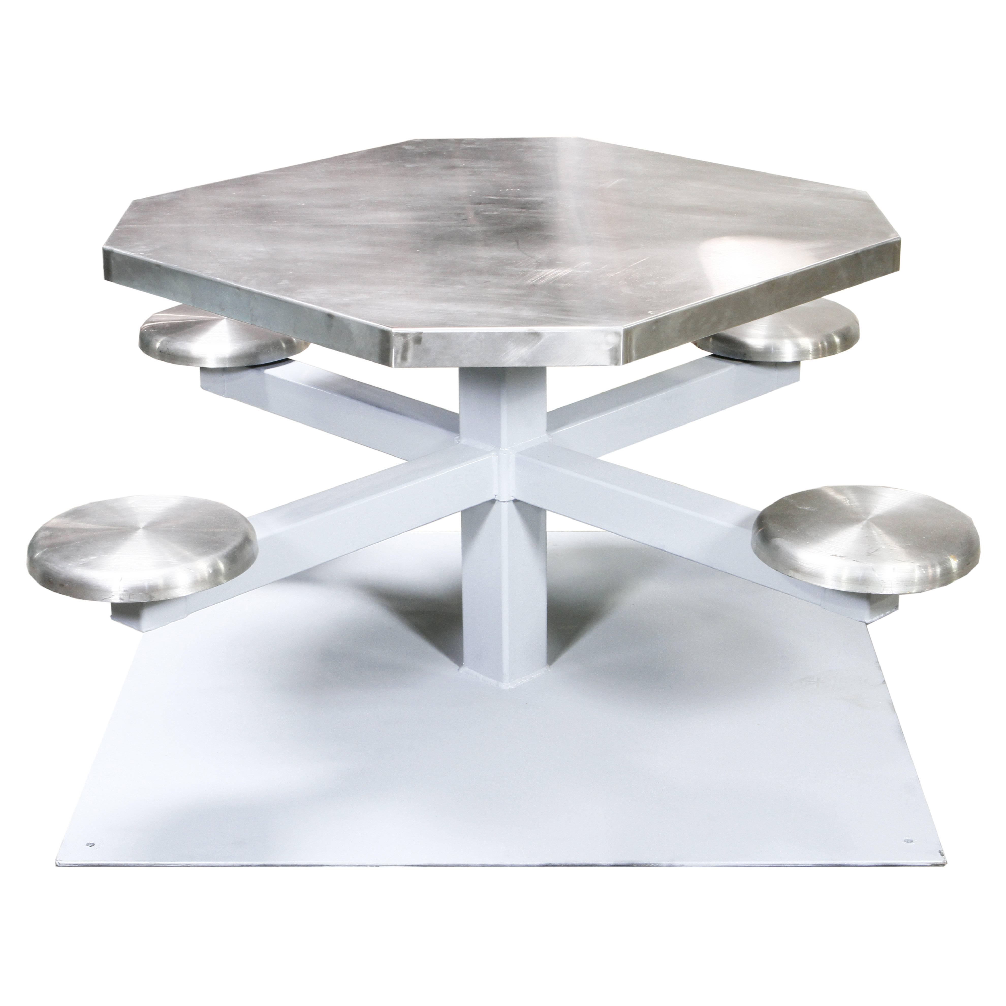Prison Table Outdoor 4 Seat Air Designs