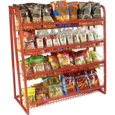 DISPLAY RACKS, CANDY & CHIPS