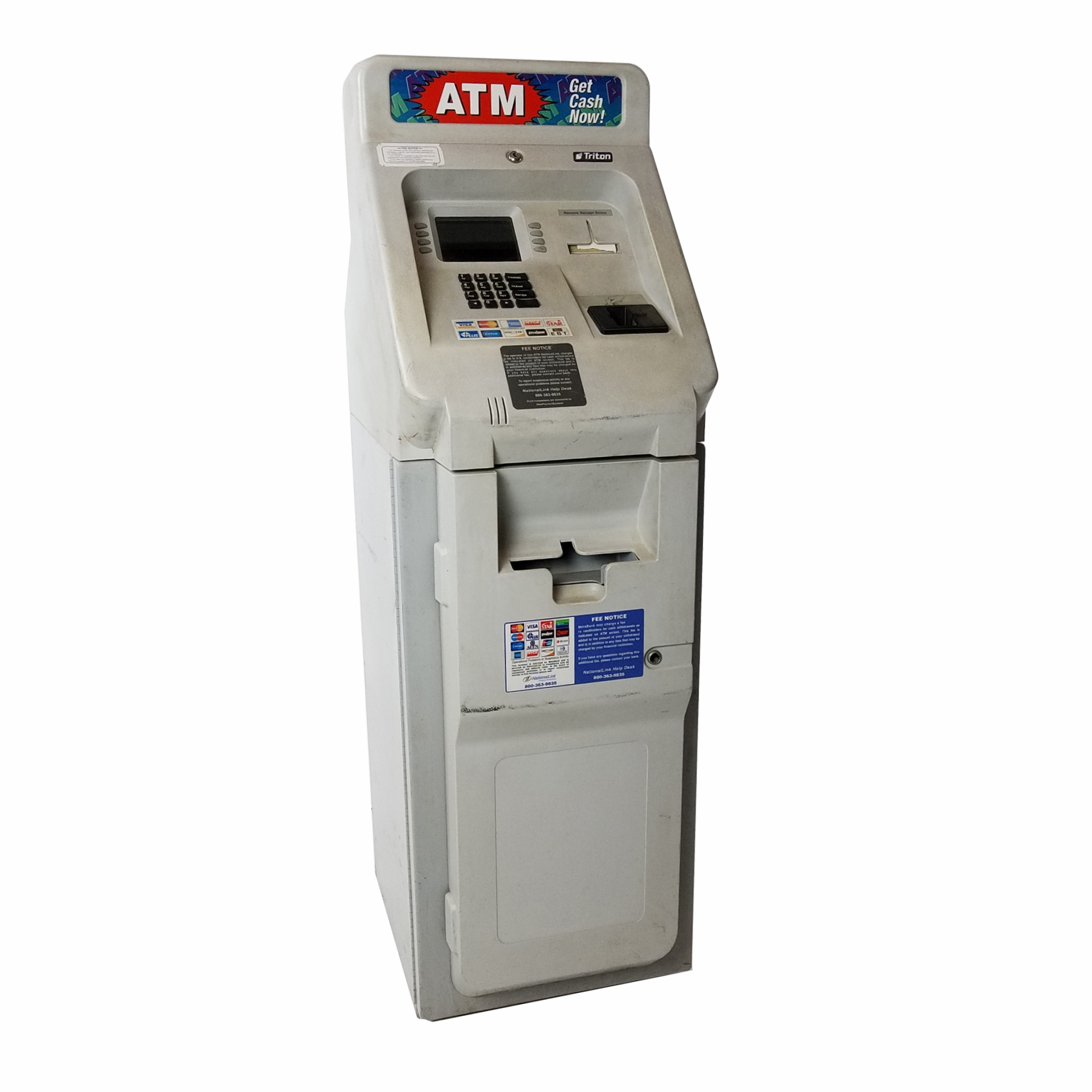 triton 9600 atm machine