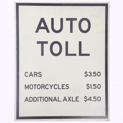 TOLL ROAD SIGNS