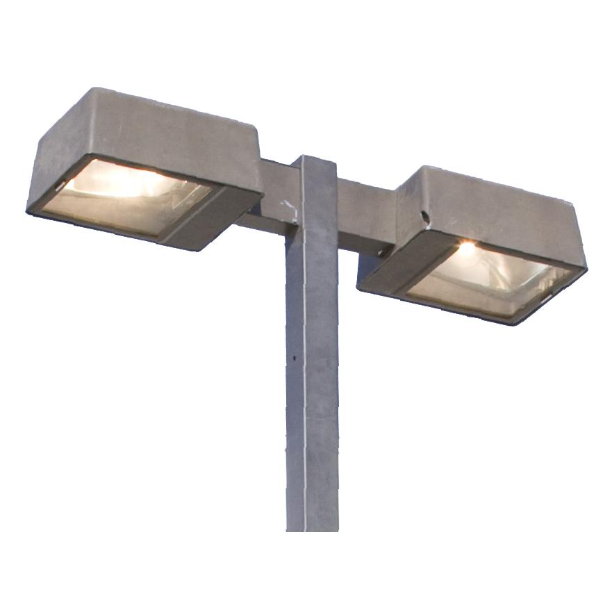 Parking Lot Lights Design: PARKING LOT LIGHT / RECTANGULAR HEAD 20′