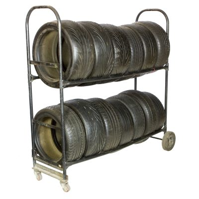 TIRES & TIRE RACKS