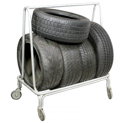 TIRE RACKS & TIRES