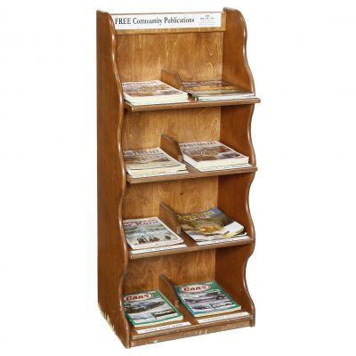 MAGAZINE & NEWSPAPER RACKS