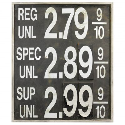 GAS STATION SIGNS