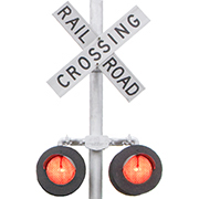 RAILROAD CROSSING SIGNALS